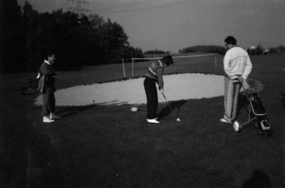Clubgeschichten Personen auf dem Golfplatz