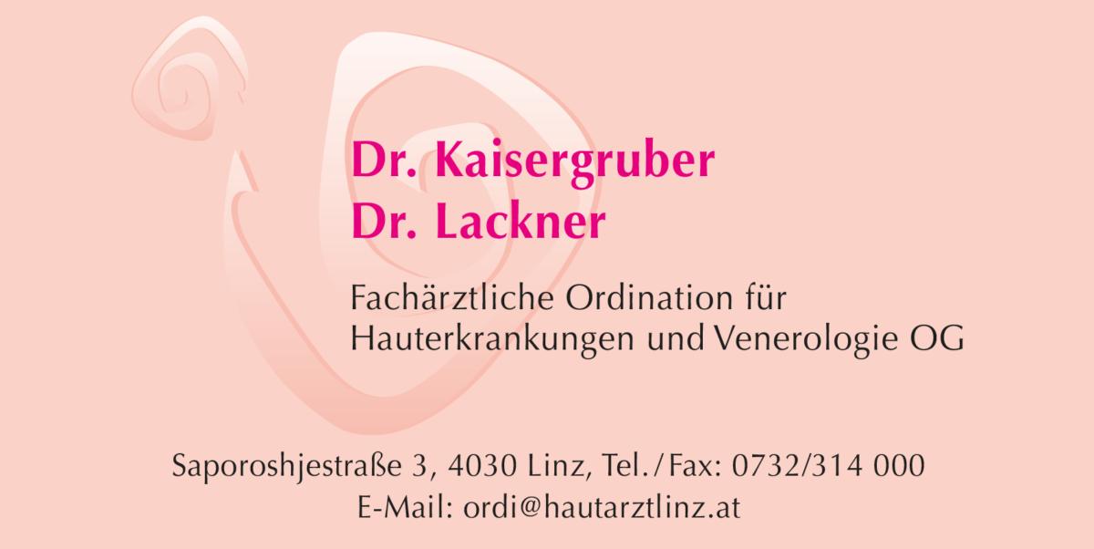 Dr. Kaisergruber & Dr. Lackner Partner Logo Loch 3